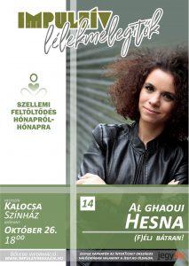 Lélekmelegítők előadás-sorozat Hesna