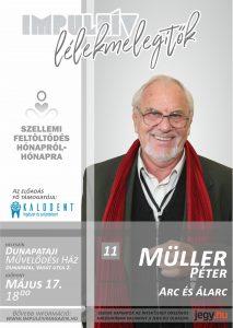 Lélekmelegítők előadás-sorozat Müller Péter