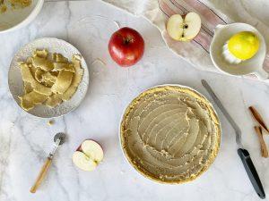 almarózsa pite gluténmentes vegán recept Impulzív Magazin
